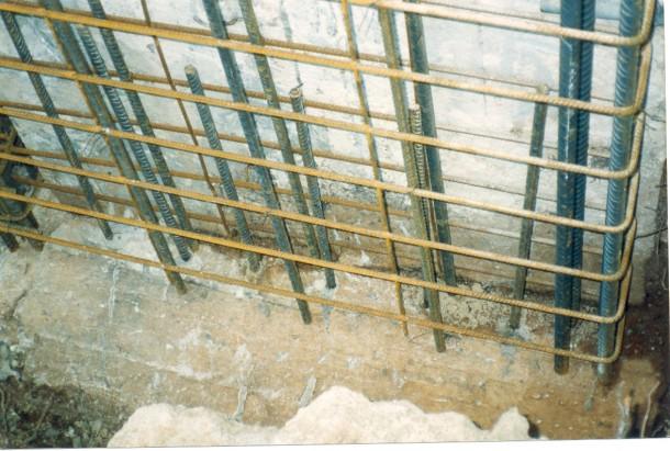 Ενίσχυση κτιρίου Τοποθέτηση βλήτρων
