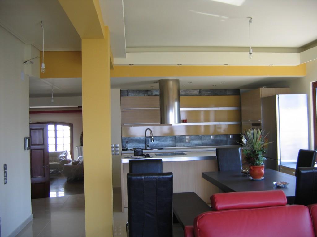 Εσωτερικοί χώροι - τραπεζαρία