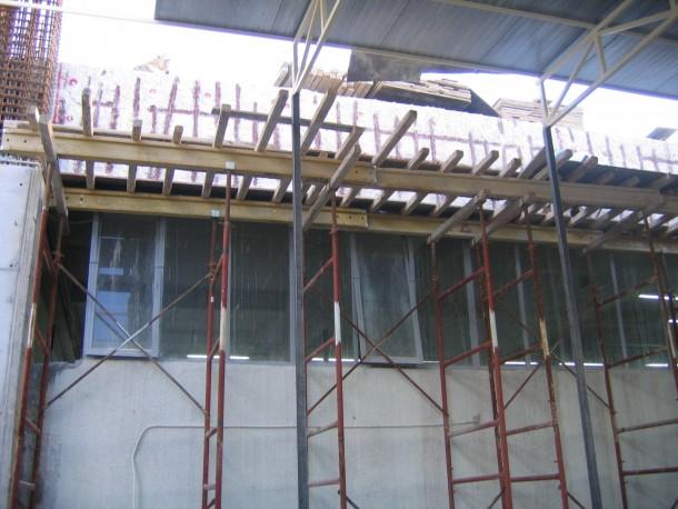 Ενίσχυση κτιρίου αποκατάσταση υπάρχον οπλισμού