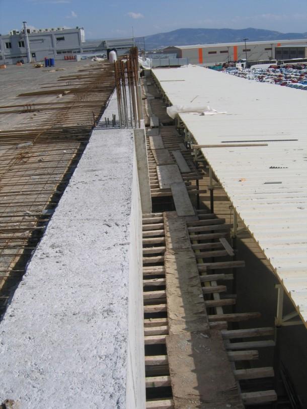 Ενισχύσεις κτιρίων Ενίσχυση δοκών εξωτερικά