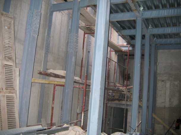 Ολοκληρωμένο τμήμα ενίσχυσης κτιρίου