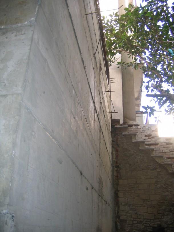 Ενισχύσεις κτιρίων Τελική επιφάνεια σκυροδέματος