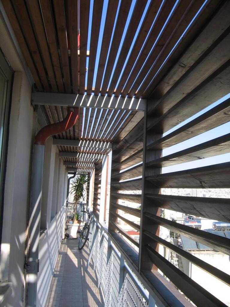 Ανακατασκευές εξωτερικών χώρων Κατασκευή σκιάστρων