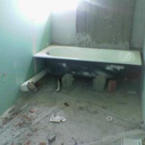 Κατασκευή μπάνιου