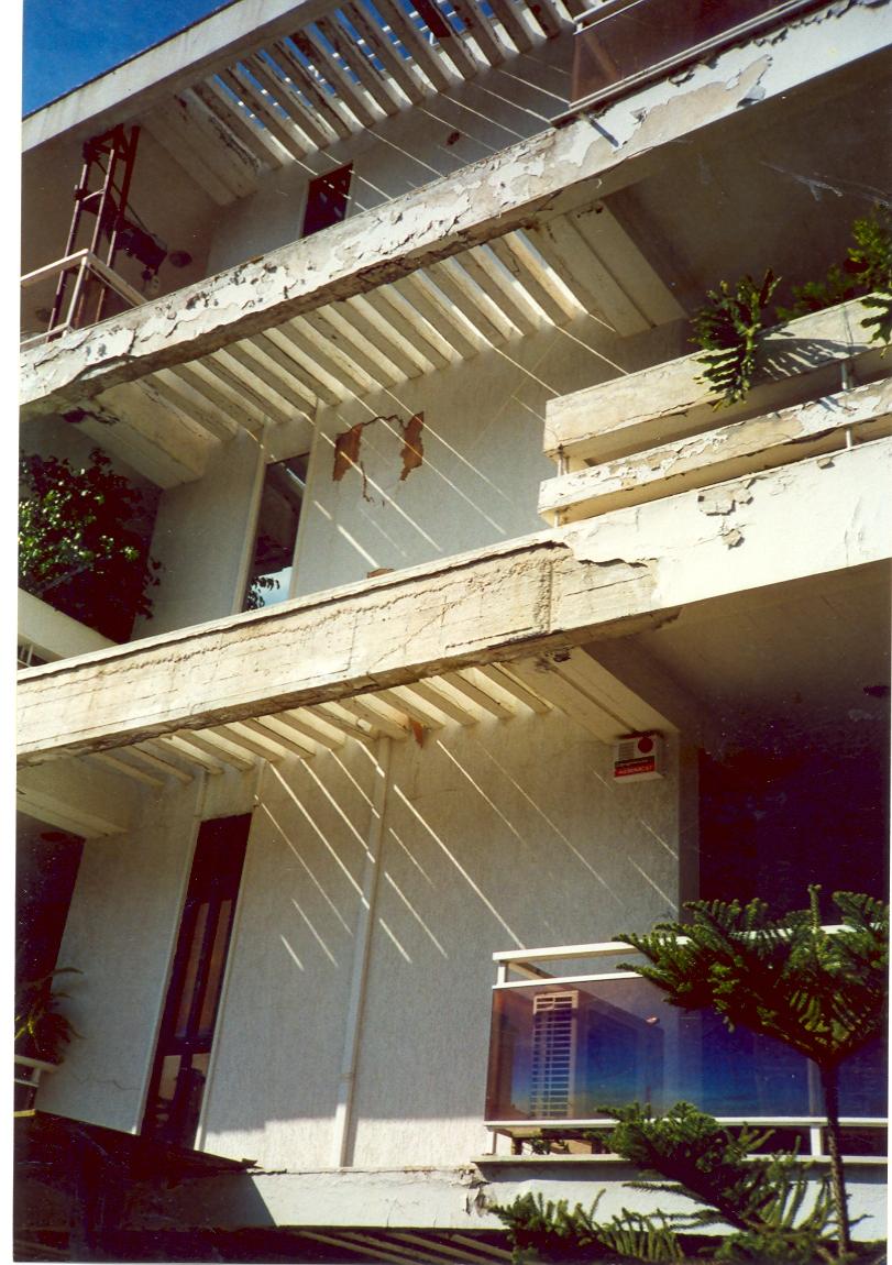 Εξωτερική ανακαίνιση κτιρίου Αρχική όψη του κτιρίου