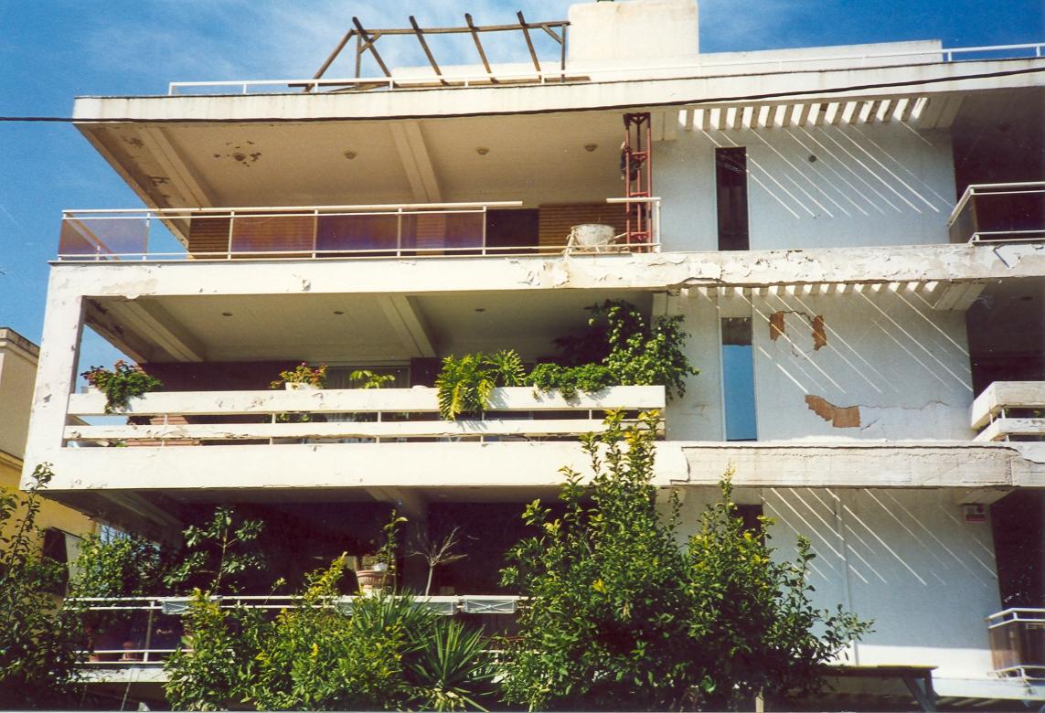 Επισκευή κτιρίου εξωτερικών όψεων στη Φιλοθέη