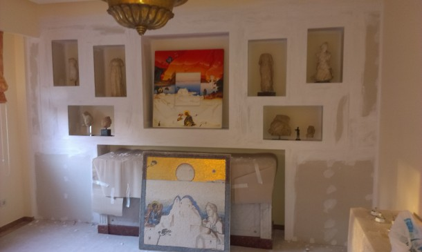 Ανακαίνιση διαμέρισμα στην περιοχή Ακρόπολη Βαφή προθηκών