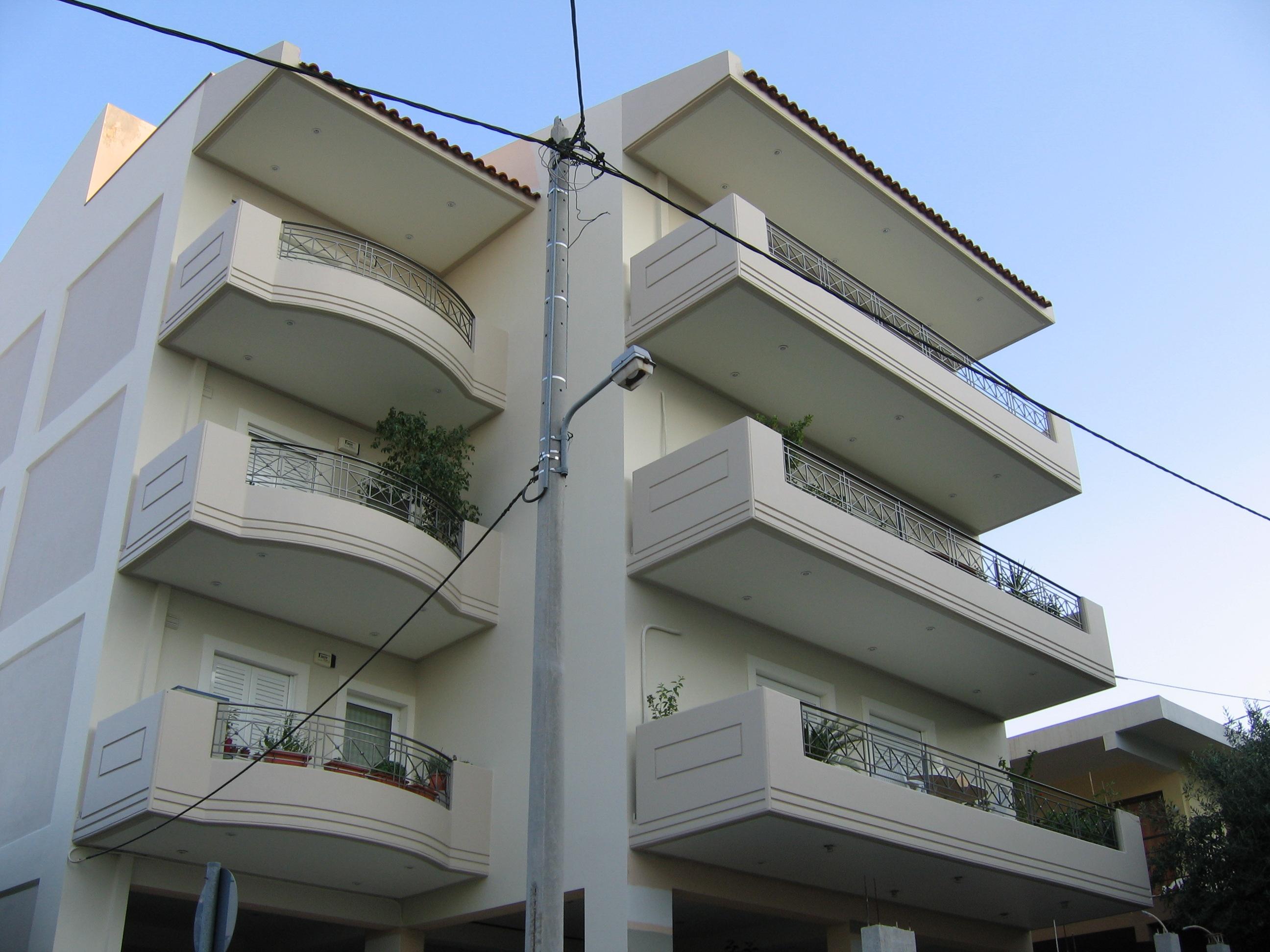 Βαφή κτιρίου ολοκληρωμένο