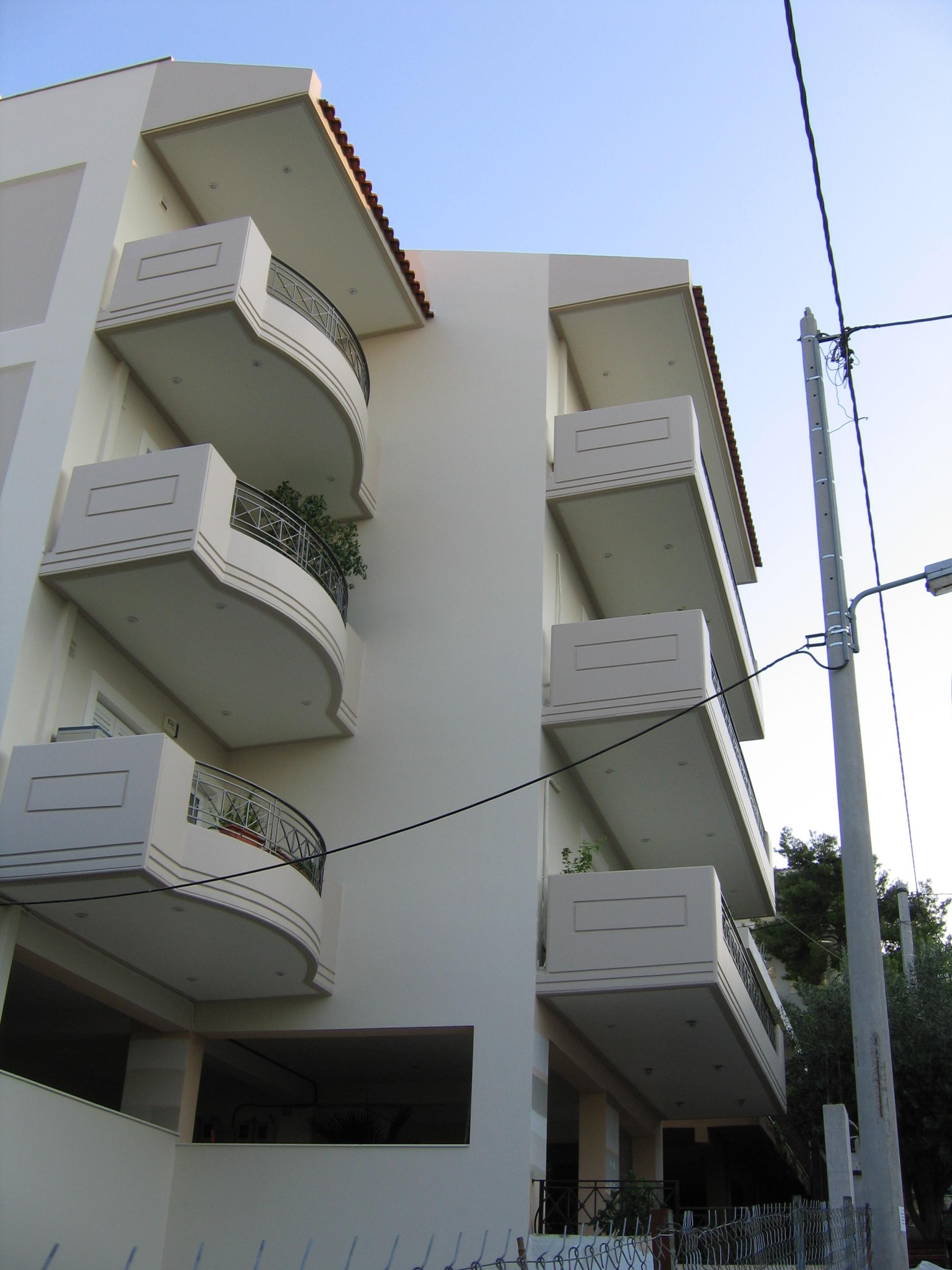 Επισκευή  βαφή κτιρίου στα Βριλήσσια
