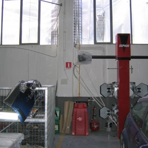 Ενίσχυση βιομηχανικού κτιρίου