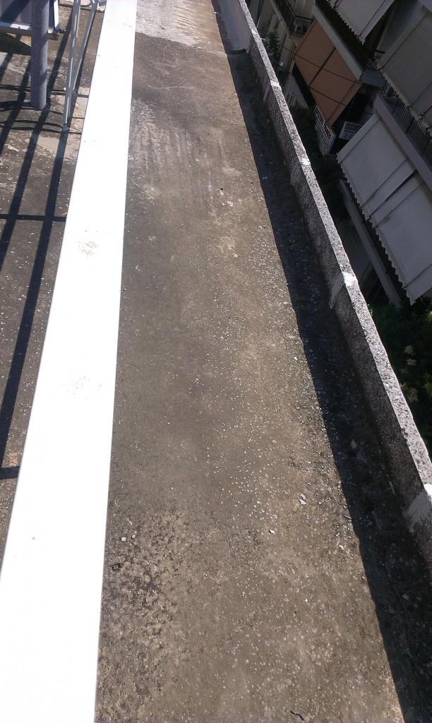 Στεγάνωση μπαλκονιών σε πολυκατοικία