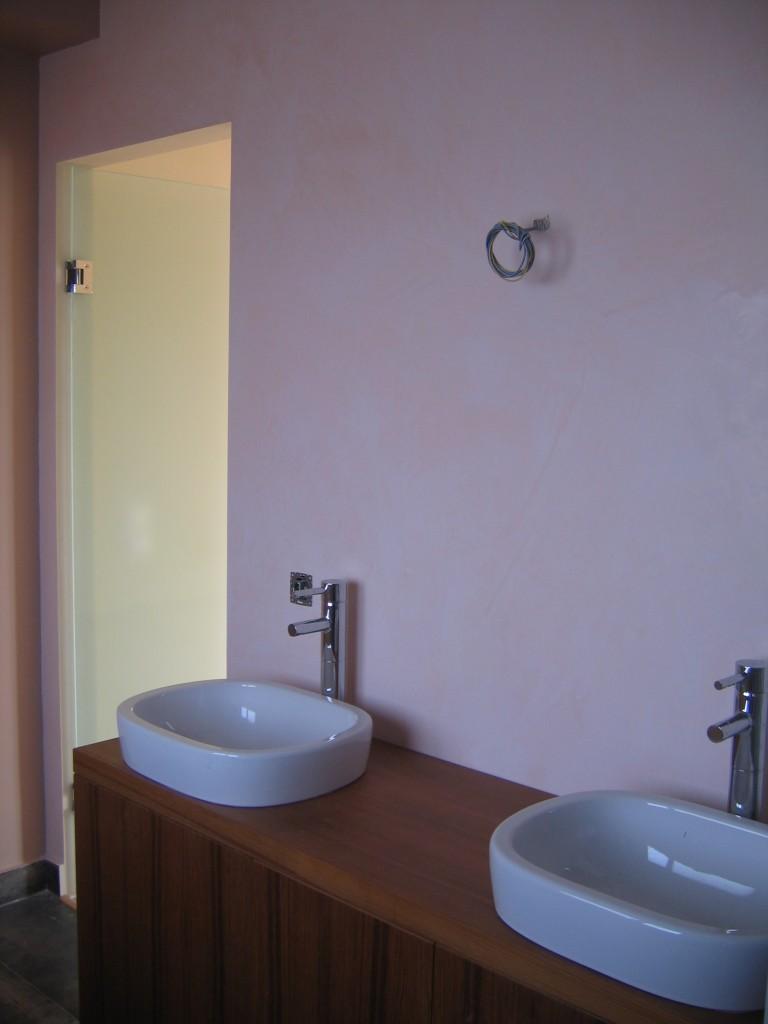 Κατασκευή μπάνιου Τεχνοτροπίες χρωμάτων Giorgio Graesan