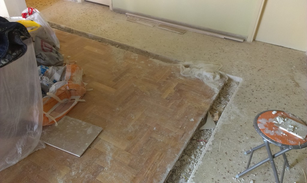 Ανακαίνιση σπιτιού γκρέμισμα τοίχοι