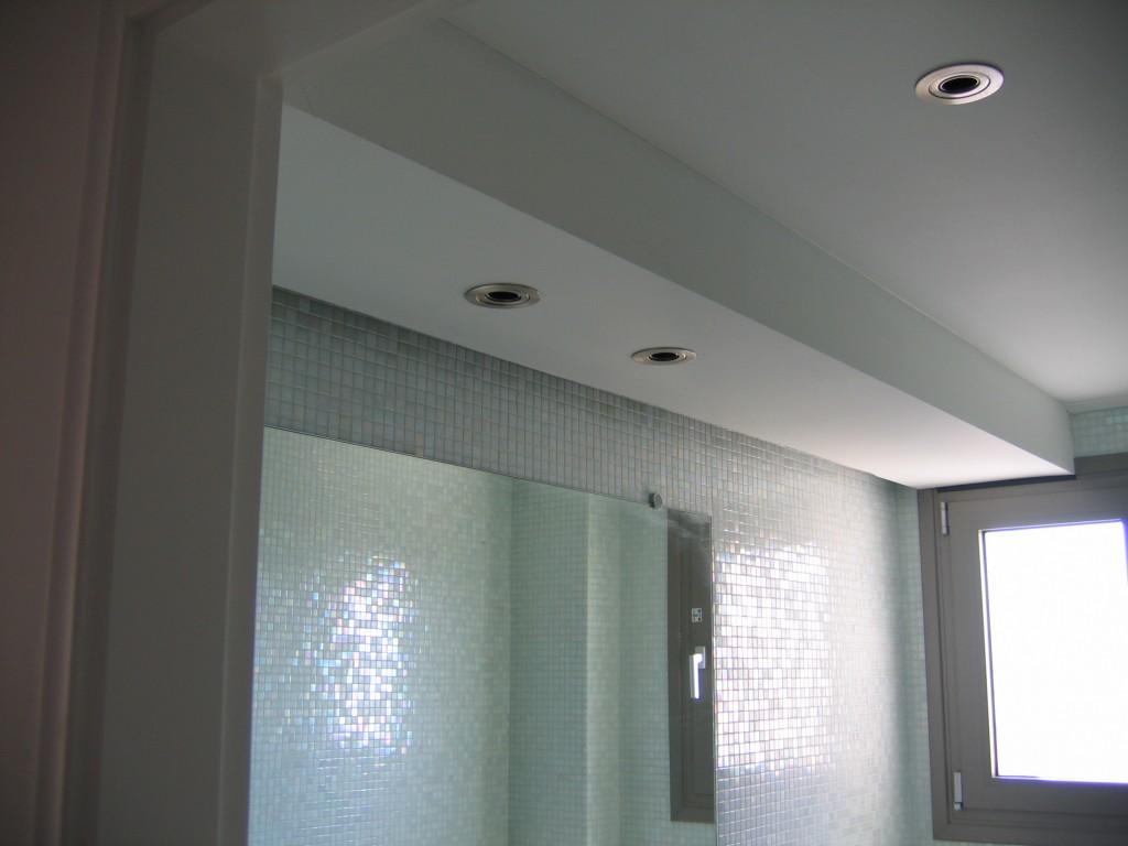 Ανακαίνιση μπάνιου κατασκευή ψευδοροφής