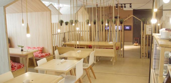Το διασκεδαστικό restaurant cafe