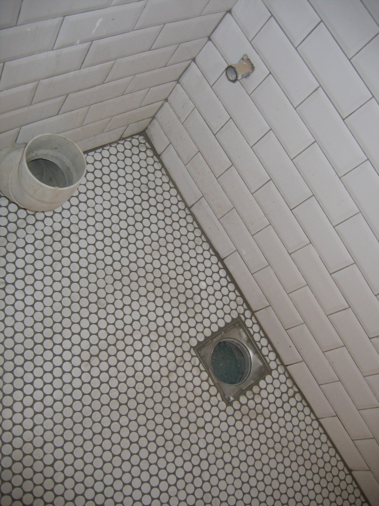 Ανακαίνιση μπάνιου με πλακάκι τουβλάκι