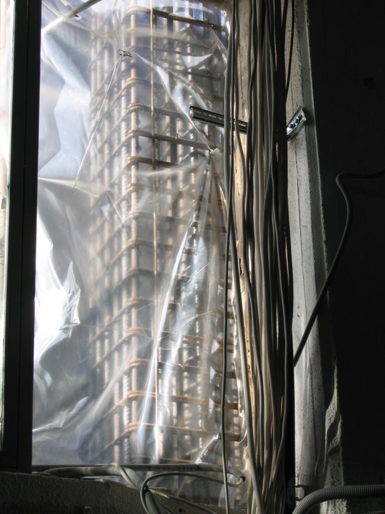 Ενίσχυση κολόνων κτιρίου