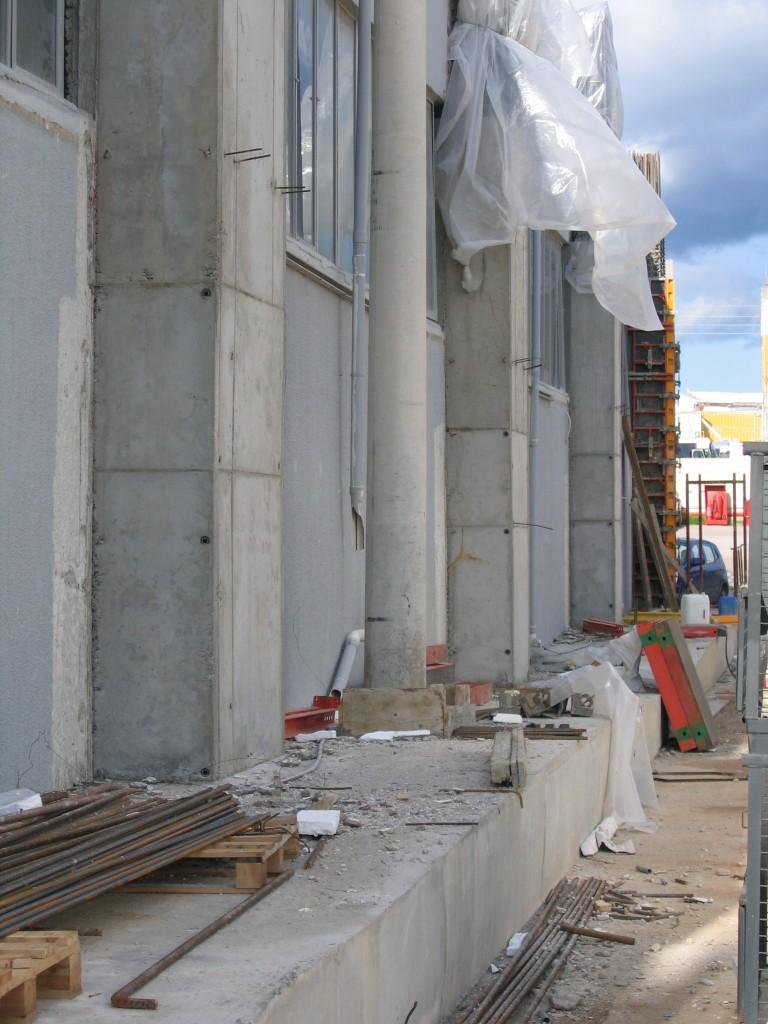 Ενίσχυση κολονών κτιρίου
