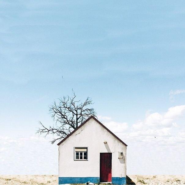 Τα μοναχικά σπίτια της Πορτογαλίας