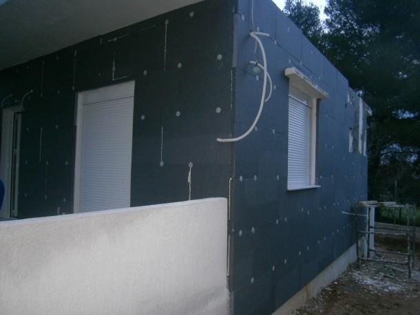 Εξωτερική θερμομόνωση κτιρίου στον Αγ.Στέφανο