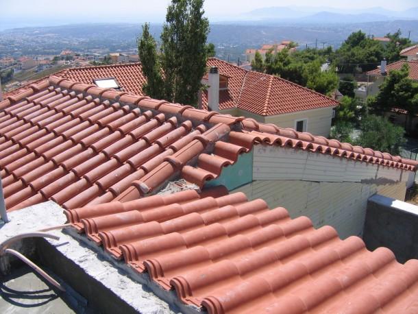 Κατασκευή στέγης