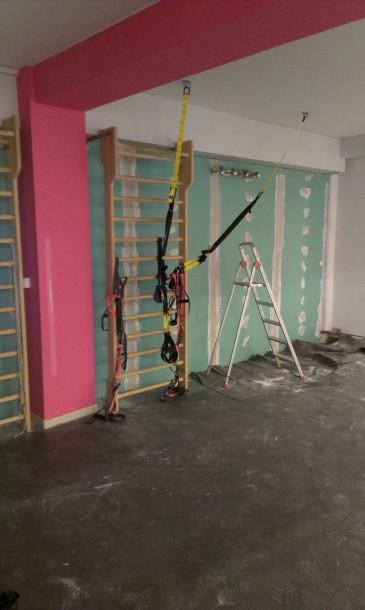Αντιμετώπιση υγρασίας σε τοίχο με γυψασανίδες