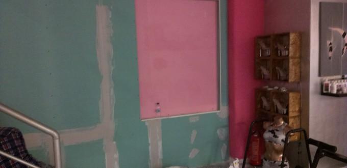 Αντιμετώπιση υγρασίας σε τοίχο με γυψοσανίδες