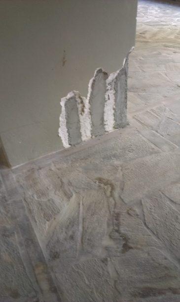 Αποκατάσταση κολόνας με geolite 40