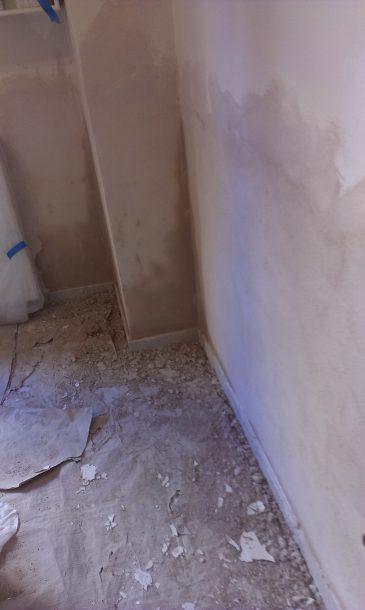 Επισκευή σπιτιού με προβλήματα υγρασίας