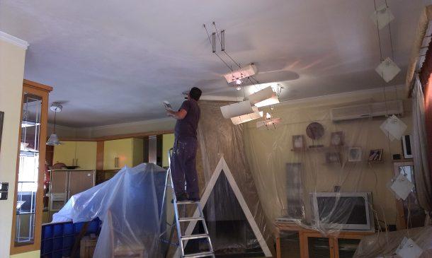 Αποκατάσταση στο ταβάνι