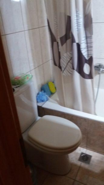 Μερική ανακαίνιση μπάνιου λεκάνη σε λάθος θέση