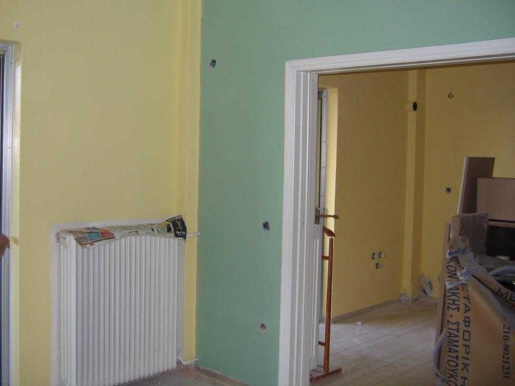 Ανακαίνιση σπιτιού-διαμερίσματος στην Πεύκη