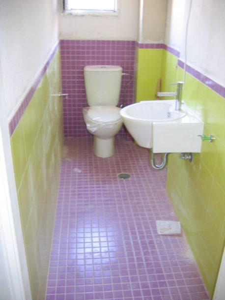 Ανακαίνιση βοηθητικού Μπάνιου WC