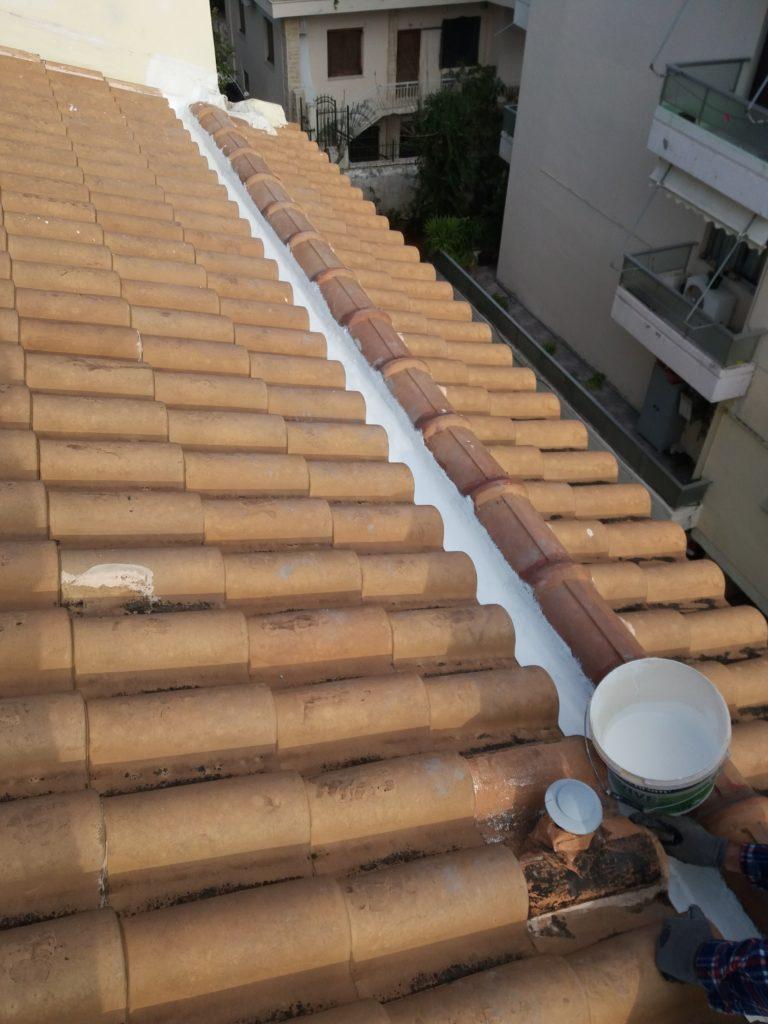 Επισκευή κεραμοσκεπής στην Αγ.Παρασκευή προστατέψτε το σπίτι από την βροχή