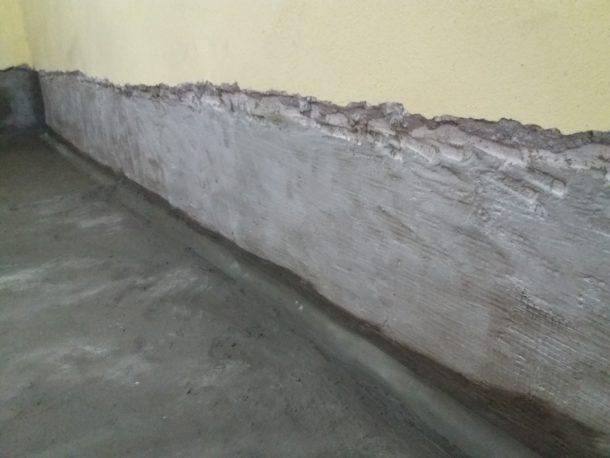 Στεγάνωση υπογείου σε δάπεδα και τοίχους