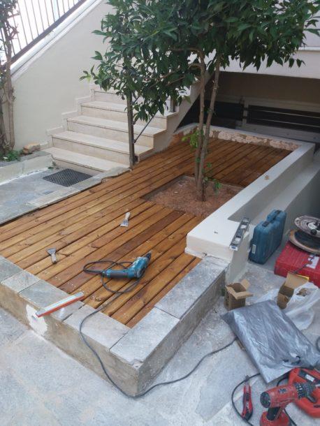 Κατασκευή ξύλινου deck
