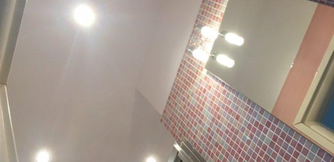 Κατασκευή ψευδοροφής στο μπάνιο