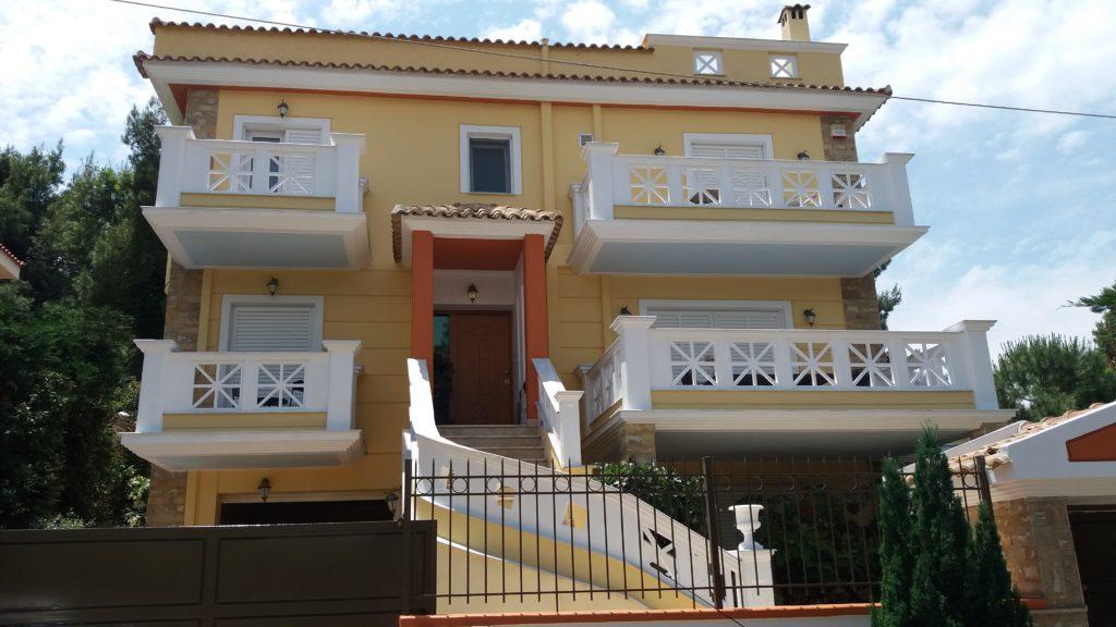 ανακαίνιση εξωτερικά σπιτιού