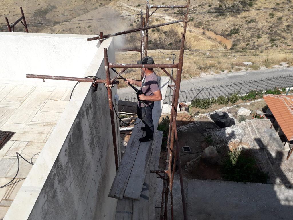 αποκατάσταση τοιχοποιίας μετά από πυρκαγιά