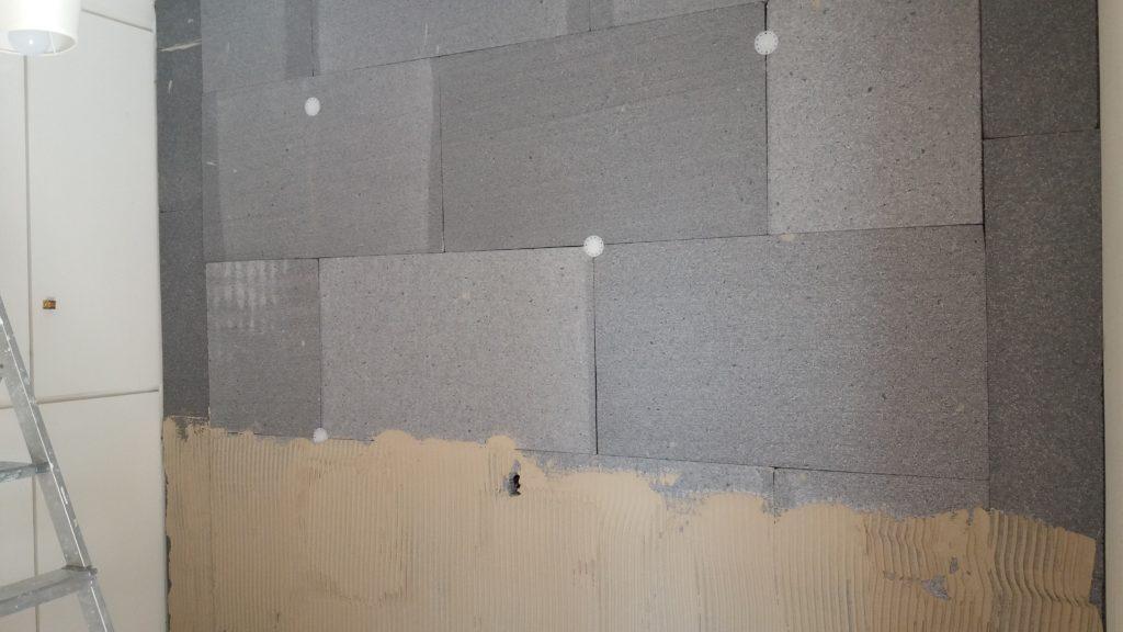 Εσωτερική θερμομόνωση τοίχου