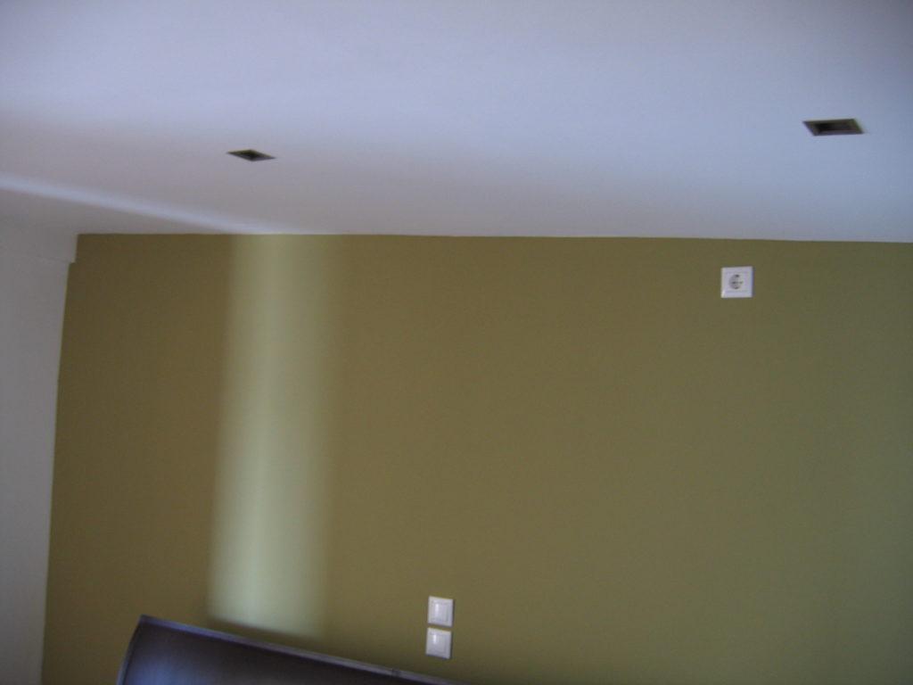Φωτισμός οροφής από γυψοσανίδα